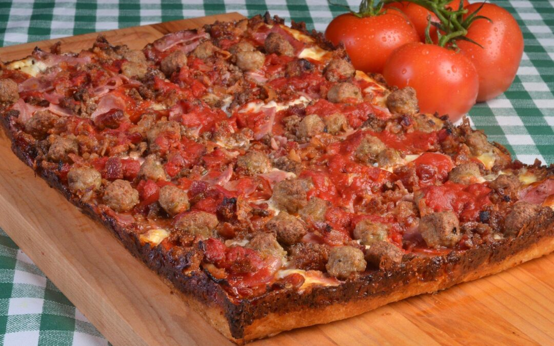 Who has the best square pizza near me?